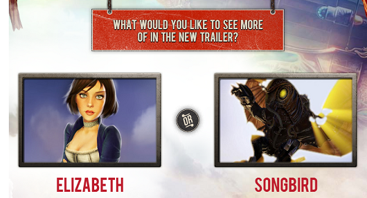 Irrational wants to you to vote for next BioShock Infinite trailer
