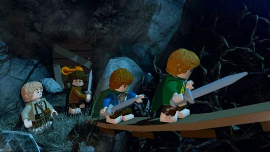 Lego The Lord of the Rings struggles to find its voice