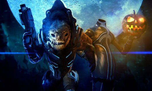 Mass Effect 3 Halloween challenge