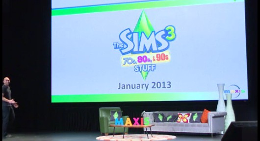 Sims 3 '70s, 80s & 90s Stuff' pack announced, University teased