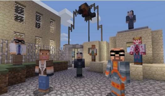 Minecraft getting HalfLife and Awesomenauts skins