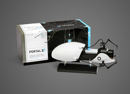 Miniature Portal gun replica now available at Think Geek