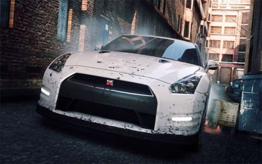 Need for Speed Most Wanted's TV ad features cars, Tonto, and a pixelated bird