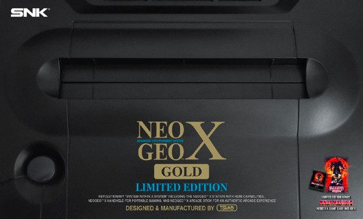 Neo Geo X Limited Edition unveiled