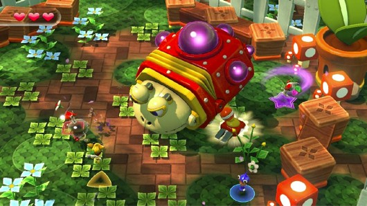 Nintendo Land features Yoshi, FZero, and 'Octopus Dance' games
