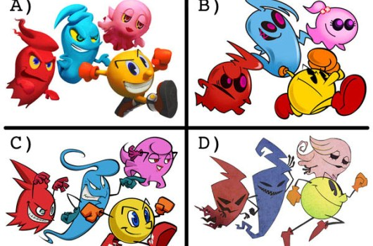PacMan survey asks users to choose look of new game