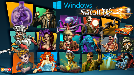 Pinball FX 2 ricochets onto Windows 8