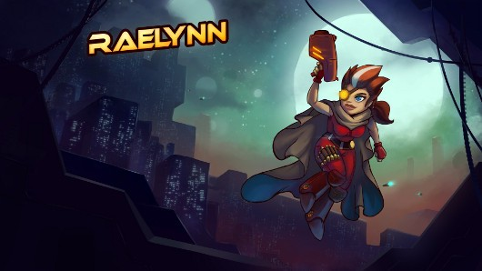 Awesomenauts 18 introduces Raelynn, Halloween content