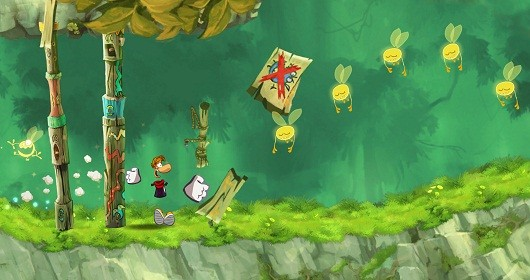 Rayman Jungle Run updated with Retina support, stuff