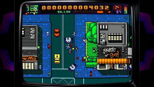 Retro City Rampage's life of crime starts Oct 9 on PS3, Vita, and PC