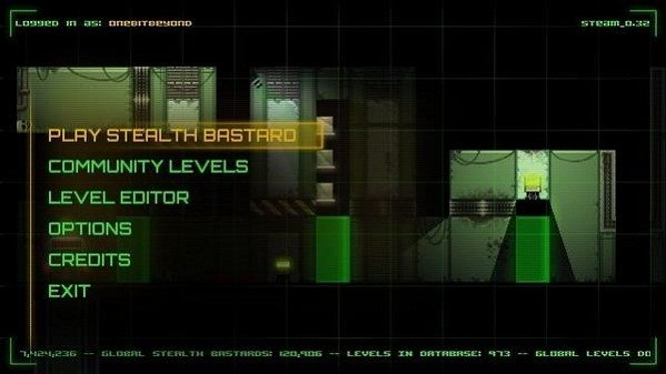 Stealth Bastard Deluxe quietly leaps onto Steam in November