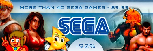 40 Sega games for $999 on DotEmu