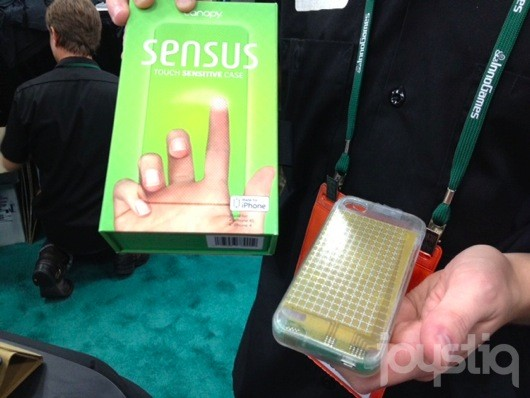 'Sensus' case adds even more touch surface to iPhone