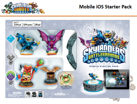 'Skylanders Battlegrounds' somehow fits Giants on iOS
