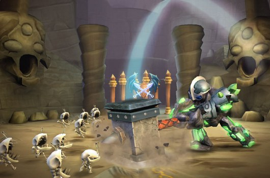 Skylanders Giants review Big toys, small changes