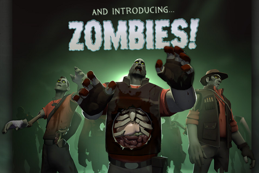 Team Fortress 2 becomes 'Scream Fortress' once again, adds zombies and potions