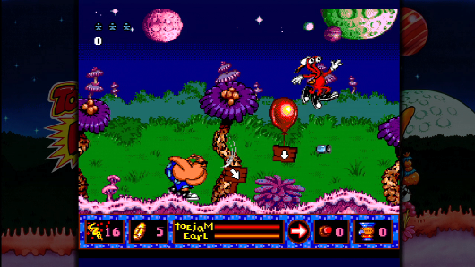 Toejam & Earl and Panic on Funkotron hit PSNXBLA November 67