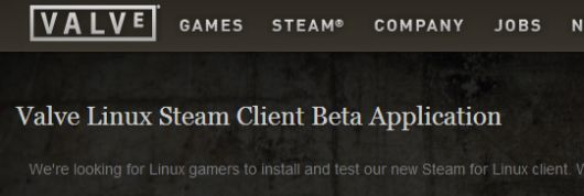 Steam for Linux beta now open for applicants