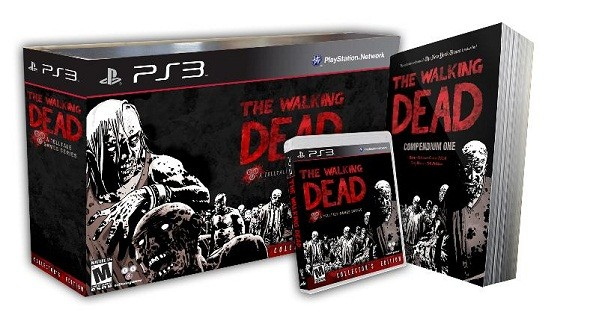 The Walking Dead Collector's Edition retail bundle is GameStop exclusive