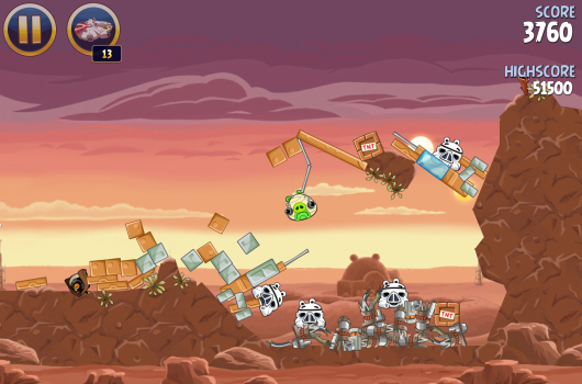 Portabliss Angry Birds Star Wars HD iPad