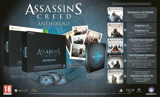 Assassin's Creed Anthology is 'EMEAexclusive,' not coming to North America