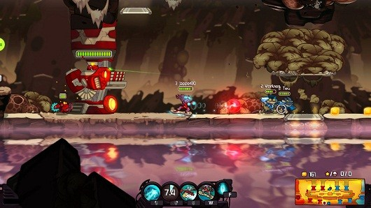 Awesomenauts free Steam weekend