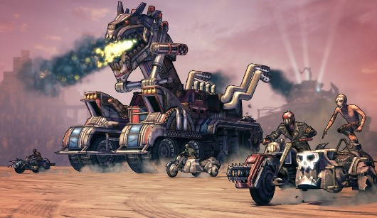 PSA Borderlands 2 lobbies, gets Torgue DLC on 360 now, PS3 and PC today
