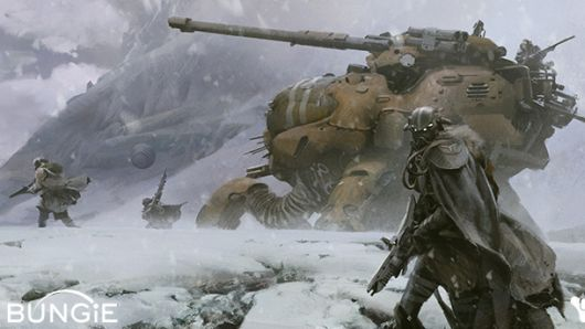 Bungie reveals story info, concept art for Destiny