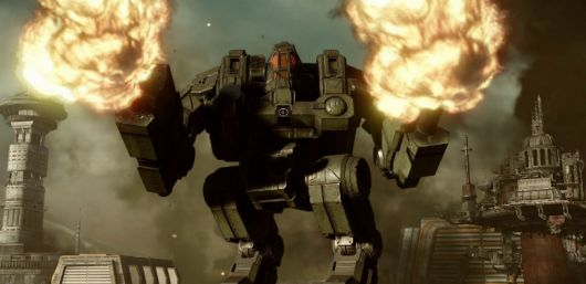 MechWarrior Online gets 'Mechsgiving' update, with new mech and equipment
