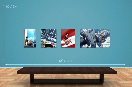Mirror's Edge and Mass Effect feature in limited edition digital art collection