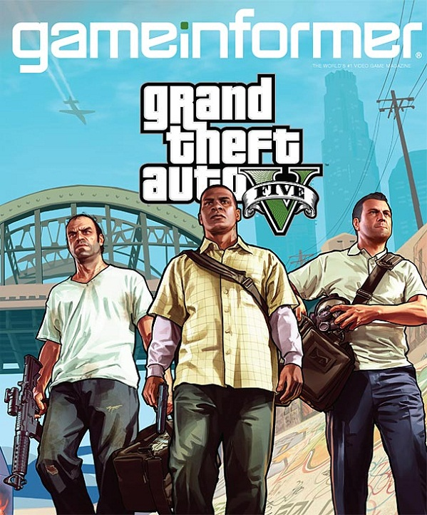 Report Grand Theft Auto 5 stars three main men, Los Santos is huge
