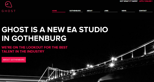 EA Gothenburg is now Ghost Games