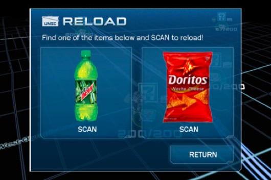 Halo 4's Mountain Dew app