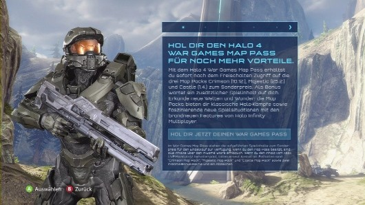 Report Halo 4 map packs dated leaked on German 360 dashboard