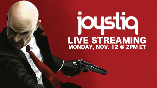JoyStream Hitman Abolution with IOInteractive's Tore Blystad and Sven Liebold