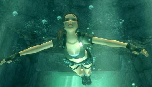 Lara Croft won't be swimming in the 2013 reboot