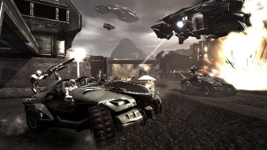 Dust 514 dev diary and screens cover closed beta's vehicular warfare