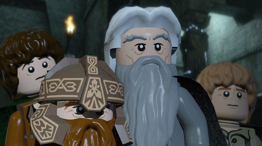 Lego Lord of the Rings demo out now