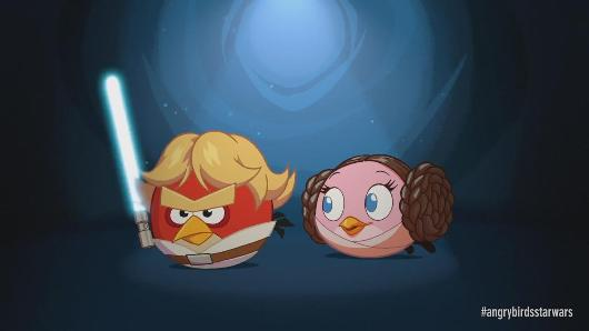 PSA Angry Birds Star Wars now has Hoth levels and Princess Leia