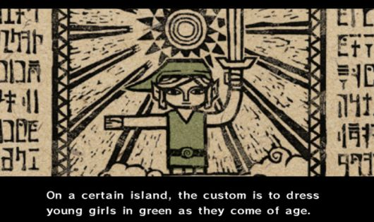 Cool dad flips Zelda pronouns for his daughter's quest