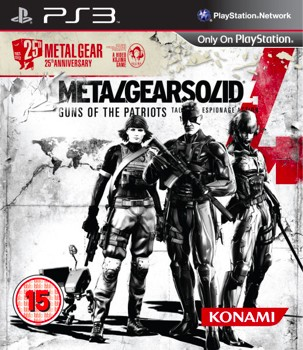 Metal Gear Solid 4 '25th Anniversary Edition' spotted in Europe