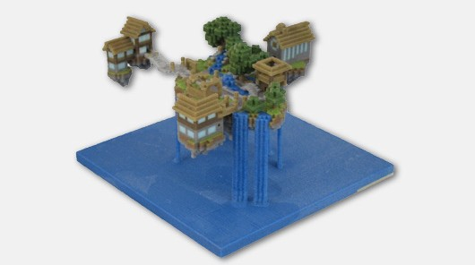 Immortalize your Minecraft world with a realworld replica