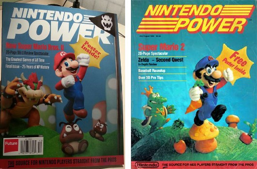 Nintendo Power's nostalgic final cover