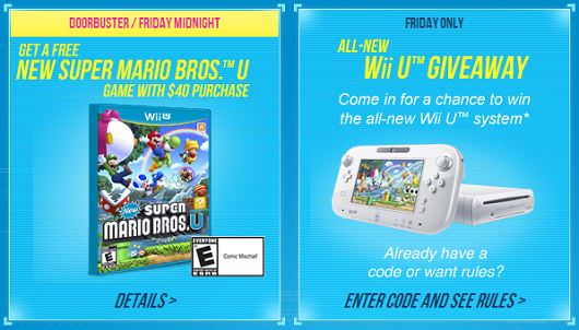 Old Navy's Black Friday 'Cheermageddon' includes free New Super Mario Bros U