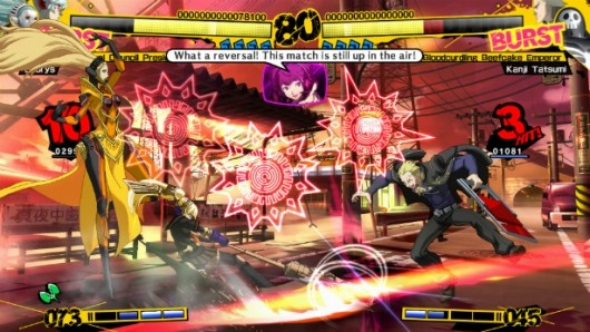 Persona 4 Arena isn't taking the stage in Europe this year