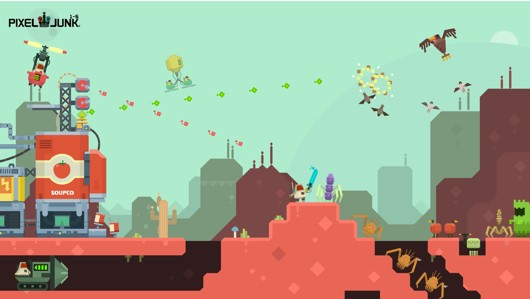 Pixeljunk 16 announced for PC