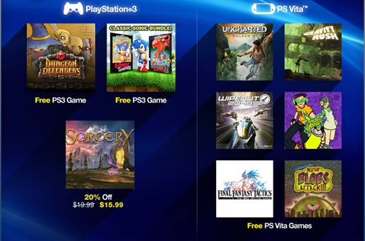 PlayStation Plus deals Dungeon Defenders, Sonic 1 and 2 for free, Sega discounts