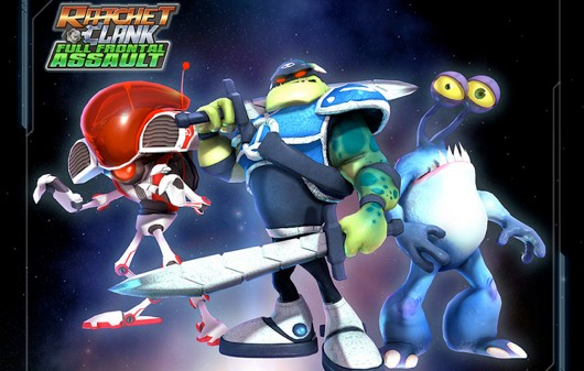 Ratchet & Clank Full Frontal Assault delayed on Vita, out Jan 2013