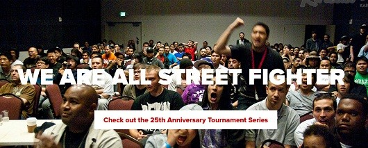 Street Fighter 25th Anniversary Tournament grand finale is next month