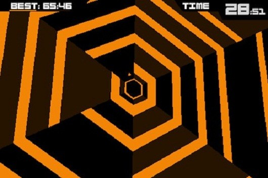 Super Hexagon rotating onto Steam next week